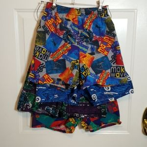 Boys Athletic Works Shorts LG - 4 pair shorts